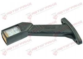 Фонарь габаритный рог наклоненный длинный диод LED 12/24  правый L-180