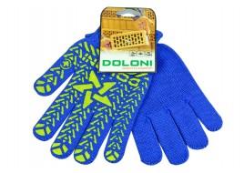 Перчатки трикотажные х/б 7-класс синие