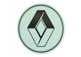 Наклейка люмінесцентна D100MM з логотипом RENAULT