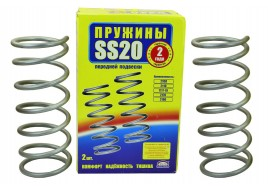 Пружина передней подвески 2108, 2109, 21099, 2110, 2113-2115 (8 кл дв) (к-кт 2 шт) SS-20