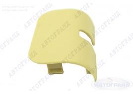 Облицовка кронштейна зеркала 2103-2107 желтая